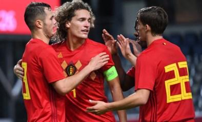 Belgische beloften stunten op het veld van Duitsland
