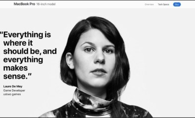 """Vlaamse Laure is het gezicht van nieuwe wereldwijde Apple-campagne: """"De grote shock kwam achteraf"""""""