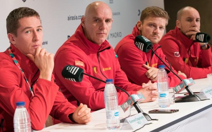 """Kapitein Johan Van Herck hoopt dat zijn team ook in de nieuwe Davis Cup kan schitteren: """"België is geen underdog meer"""""""
