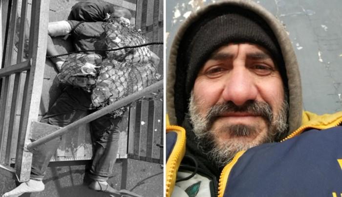 """""""Masoud kwam uit Iran. Hij was een vader, en maakte prachtige houtsnijwerken"""""""