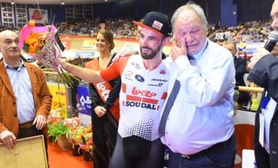 Victor Campenaerts breekt record op 5.000 meter in het Kuipke