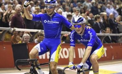 In de allerlaatste spurt: Kenny De Ketele en Robbe Ghys winnen spannende zesdaagse met halve wiellengte voorsprong