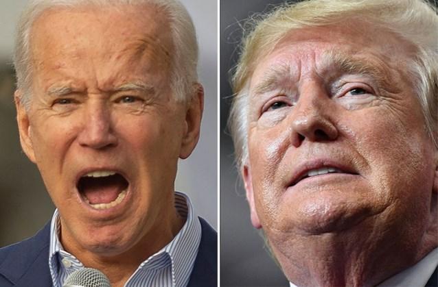 """Trump """"verdedigt"""" Biden na Noord-Koreaanse aanval: """"Hij is iets beter dan een dolle hond"""""""