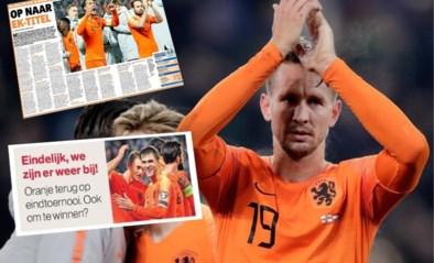 """Nederlandse kranten niet al te bescheiden na kwalificatie voor EK: """"Elf redenen waarom Oranje het EK wint"""""""