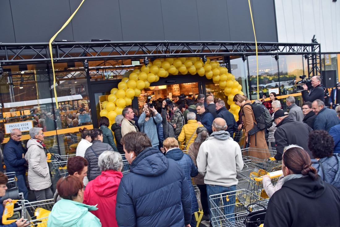 """""""Jumbo op weg naar recordomzet, eerste Belgische winkel overtreft de verwachtingen"""""""