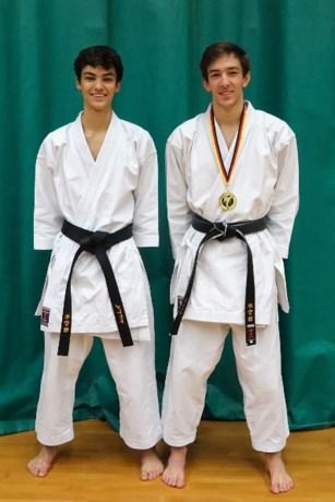 Karatebrons voor Michiel Vlaminck op Duits JKA-toernooi