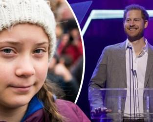 """Prins Harry looft Greta Thunberg in laatste publieke verschijning: """"Iedereen heeft een Greta nodig"""""""