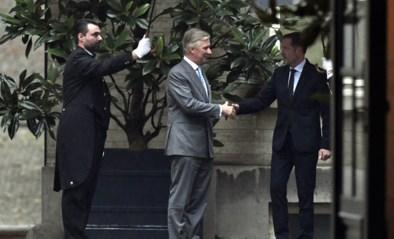 Koning Filip verlengt opdracht van informateur Magnette met een week