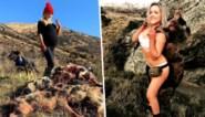 Jagende moeder (29) krijgt doodsbedreigingen voor 'pikante' kiekjes met jachttrofeeën