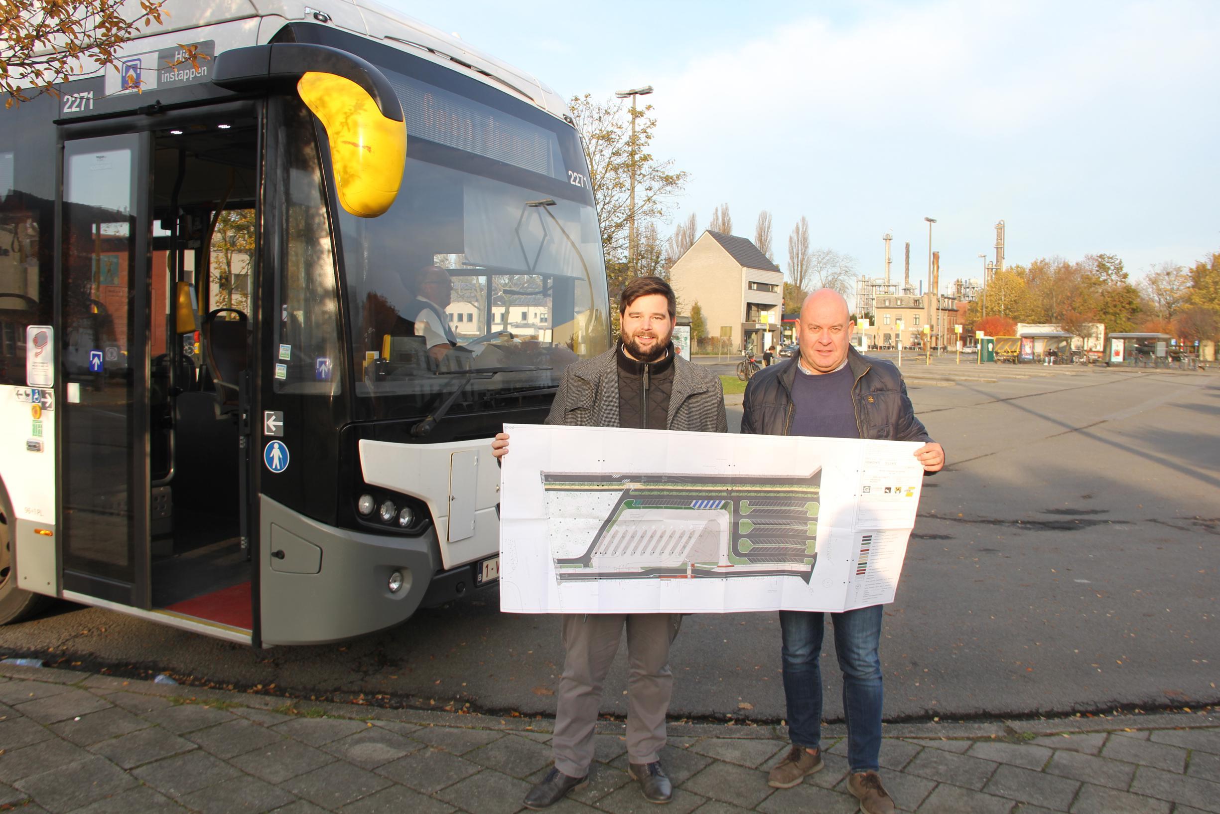 Na 15 jaar gaat heraanleg Busplein eindelijk van start - Het Nieuwsblad