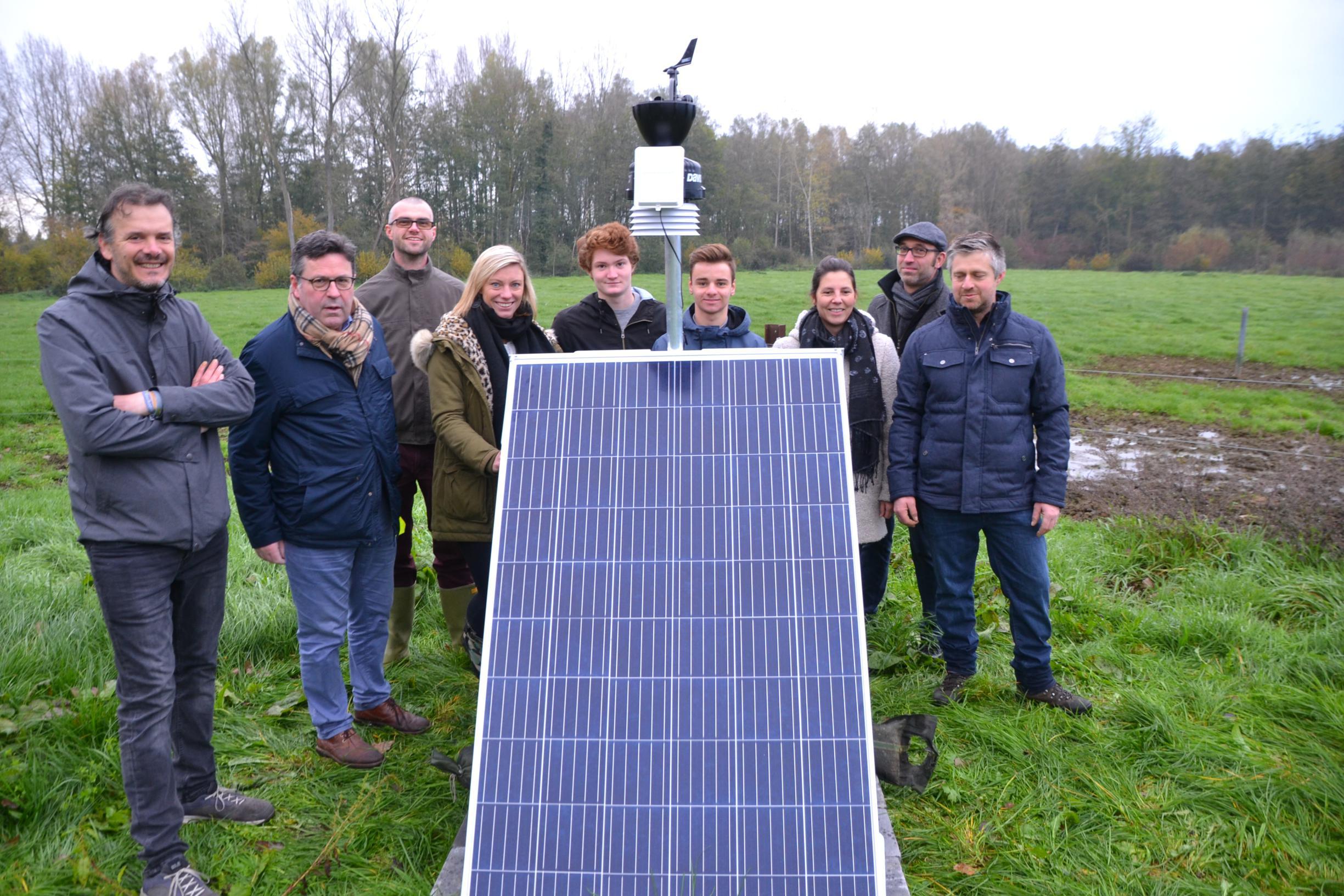 Leerlingen Sint-Martinus werkenmee aan meteorologisch onderzoek