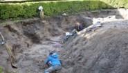 """Ondiepe graven ontdekt in stadscentrum: """"Een mirakel dat ze hier onbeschadigd bleven"""""""