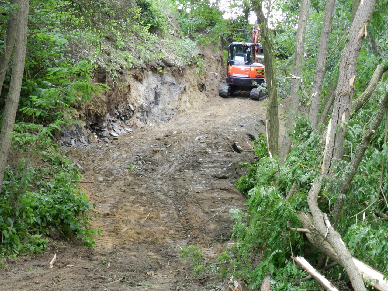 Afdekken asbeststort in de kleiputten is bijna afgerond