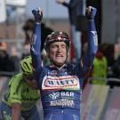 In 2016 won Gasparotto een tweede keer de Amstel, in de kleuren van Wanty.