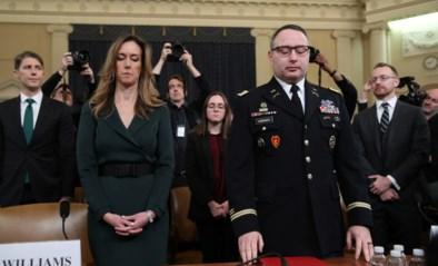 """Kroongetuige voor impeachmentcommissie tegen Trump erkent: """"Kreeg tot drie keer het aanbod om Oekraïens minister van Defensie te worden"""""""