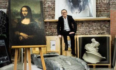 Mona Lisa van Wim Delvoye brengt ruim half miljoen euro op
