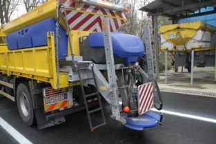 Strooiwagens rijden eerste keer uit in Brussel