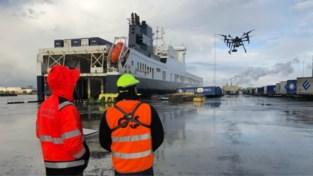 Gents Havenbedrijf zet drone in tegen verstekelingen
