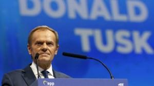 """Nieuwe EVP-voorzitter Donald Tusk zet zich af tegen populisten: """"Ik ben klaar voor een gevecht"""""""