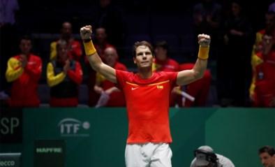 Nadal helpt Spanje aan plaats in kwartfinales Davis Cup, titelverdediger Kroatië uitgeschakeld