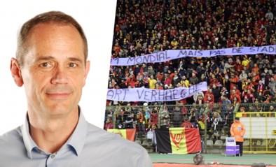 """Chef voetbal Ludo Vandewalle is gezeur over geleide loting en gebrek aan eigen stadion beu: """"Stop nu maar met klagen"""""""