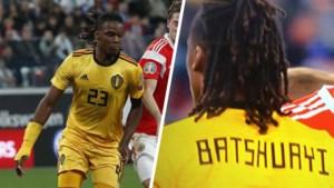 Belgische voetbalbond riskeert sanctie omdat Boyata per ongeluk even met truitje van Batshuayi speelde