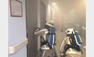 Brandweer en politie doen evacuatieoefening in Sint-Trudo Ziekenhuis