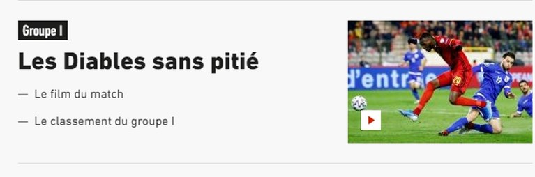 """Buitenlandse pers andermaal onder de indruk van Rode Duivels: """"Belgen hebben geen medelijden"""""""