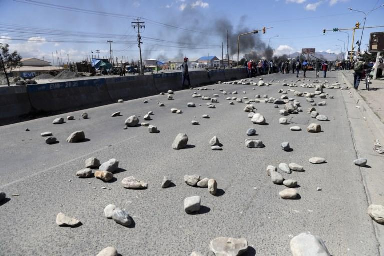 Minstens drie doden bij rellen in Bolivia