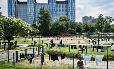 Een maand gratis en veilig toilet voor dakloze vrouwen in Brussel