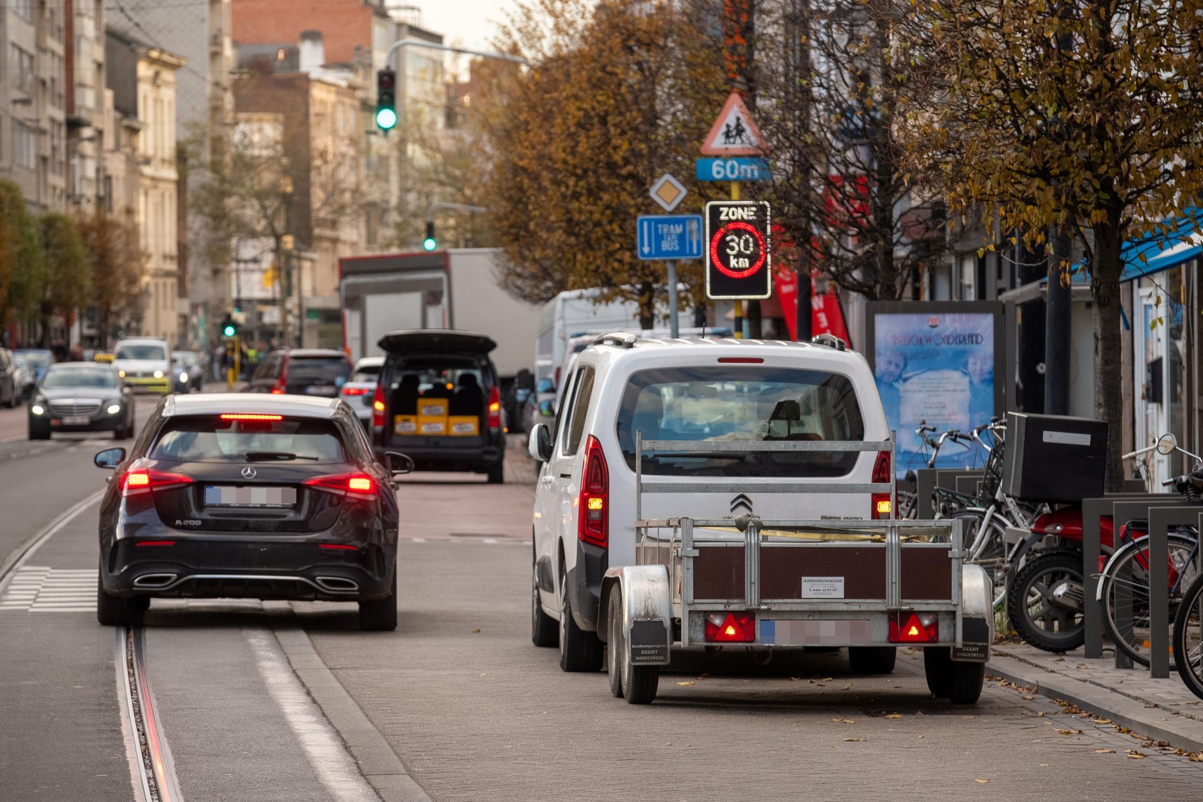 Recordaantal verkeersovertredingen op Turnhoutsebaan: 8.000 boetes
