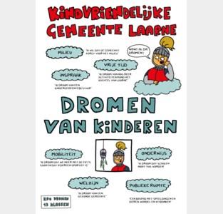 Lokaal bestuur Laarne viert  30 jaar kinderrechtenverdrag met dromen van kinderen