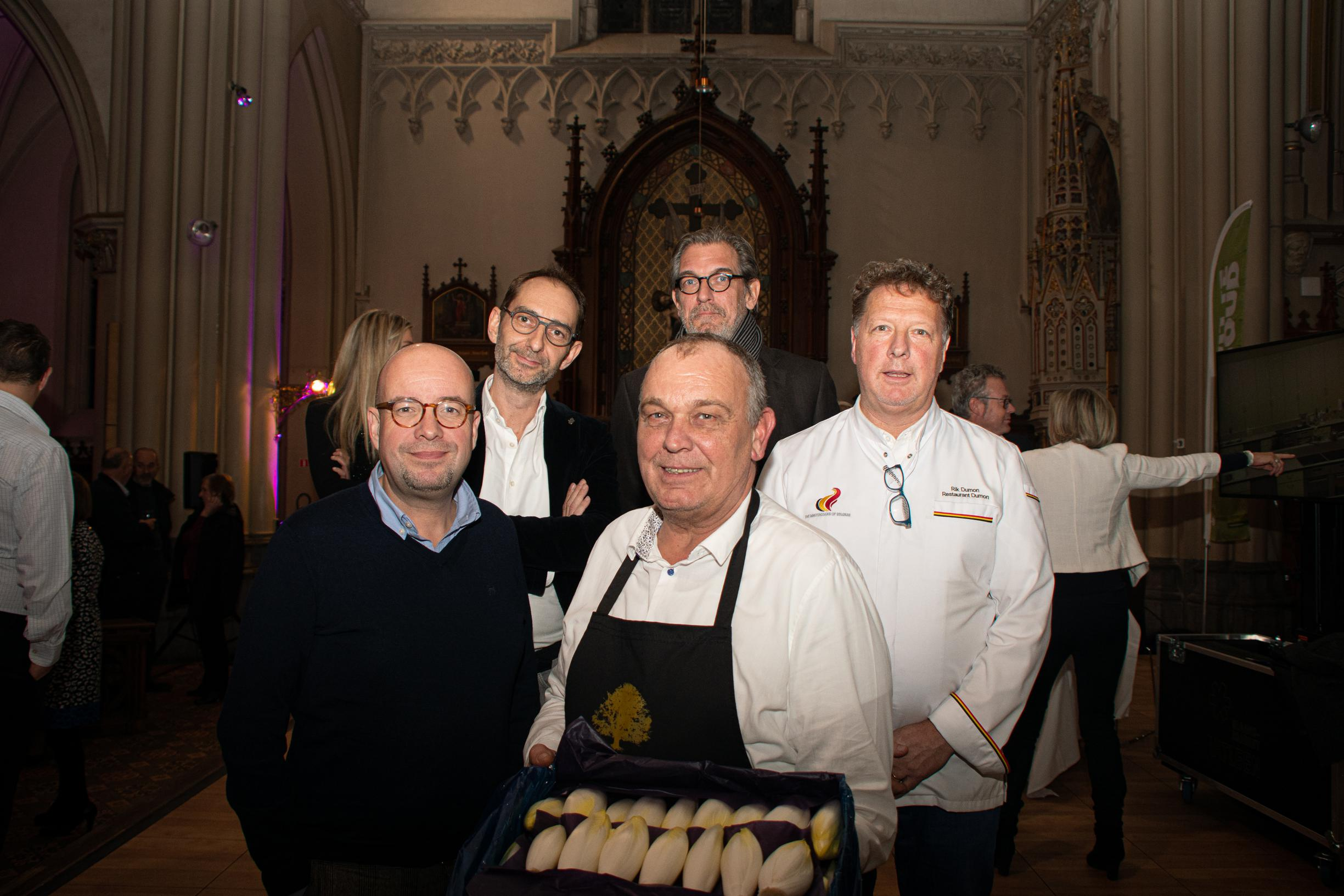 Witloof met Sint-Jacobsvruchten van Eddy Delpire (56) verkozen tot beste witloofgerecht