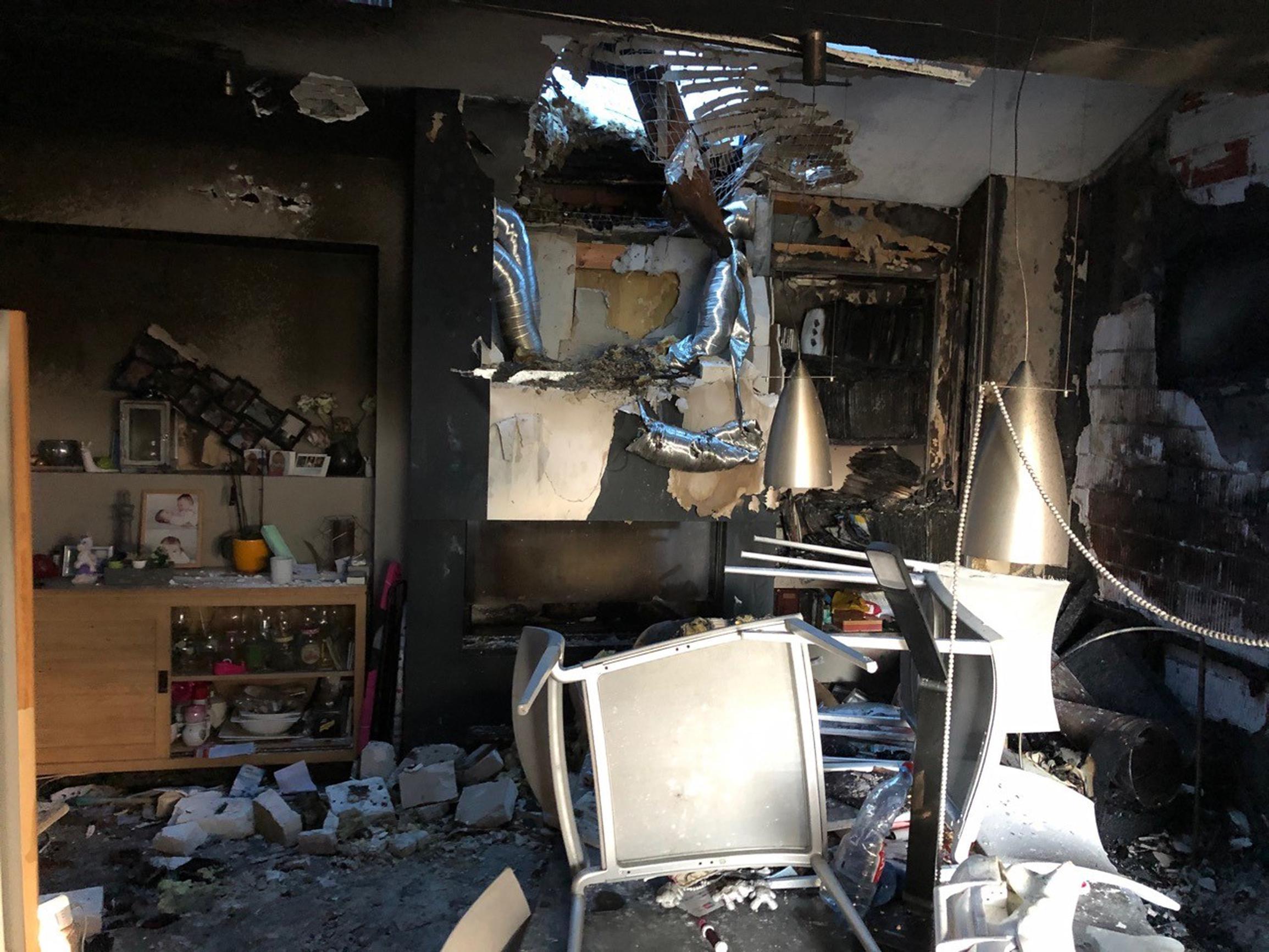 Woning zwaar beschadigd na brand