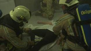 VIDEO. Grote rampoefening in Sint-Trudo ziekenhuis in Sint-Truiden