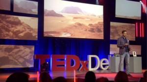 Nederlandse onderzoeker heeft plan om Marsbasis met bacteriën te bouwen