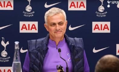 Op de presentatie van José Mourinho bij Tottenham: een dag vol verbazing, dure kussens en … bescheidenheid
