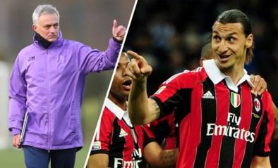 De jacht is open: AC Milan doet Zlatan Ibrahimovic contractvoorstel, ook José Mourinho zou op de loer liggen