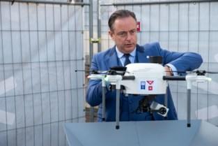 Eerste testzone automatische drones ligt boven Antwerpen