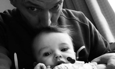 Zoontje van Karl Vannieuwkerke in het ziekenhuis