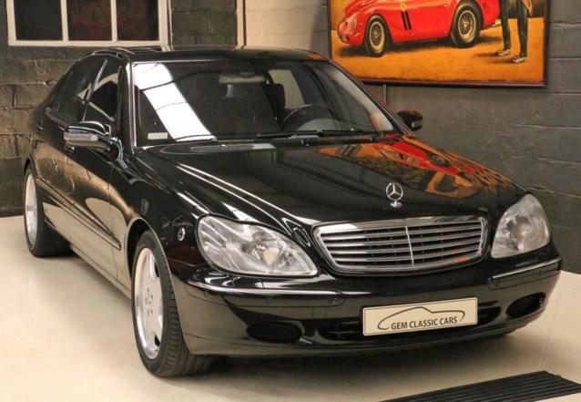 Te koop: Mercedes van koning Albert II (inclusief oude Nokia)