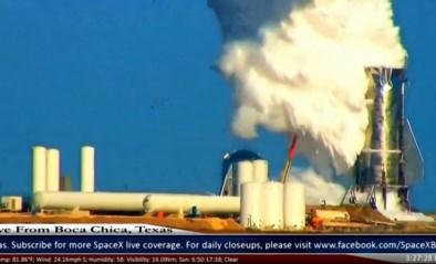 Prototype van SpaceX-ruimteschip ontploft