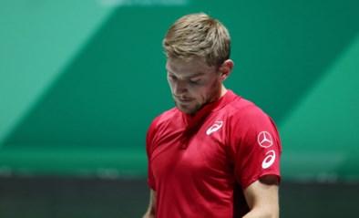 """David Goffin na nederlaag in Davis Cup: """"Haalde deze week nooit mijn beste niveau"""""""