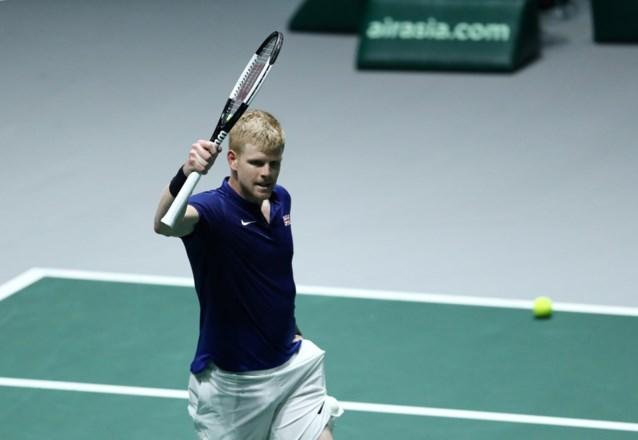 Groot-Brittannië gaat ten koste van Duitsland naar de halve finales Davis Cup