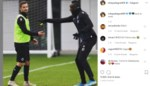 "Verbannen Diagne trapt lol op training: ""Ik trap geen penalty, die is voor Hans"""