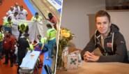 """Gerben Thijssen is weer thuis na zijn zware val in Gentse Zesdaagse: """"Die doeken rondom mij: wat een heftig beeld"""""""