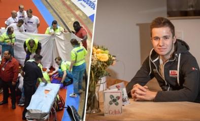 """Gerben Thijssen is thuis na zware val in Zesdaagse: """"Die doeken rondom mij: wat een heftig beeld"""""""