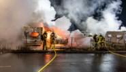 Grote brand verwoest honderden caravans in Nederland