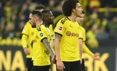 Dortmund vermijdt blamage tegen rode lantaarn met straffe comeback: Axel Witsel scoort