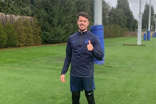 Nederlander Marco Van Ginkel staat na bijna anderhalf jaar blessureleed terug op het veld bij Chelsea